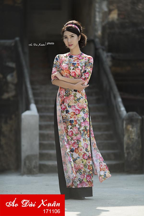 áo dài cô Ba Sài Gòn 171106