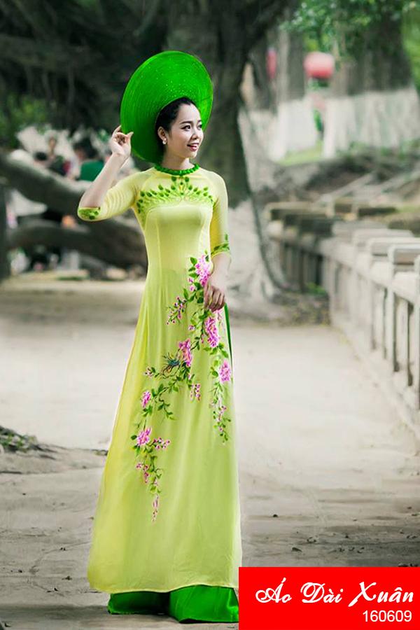 áo dài vẽ - 160609