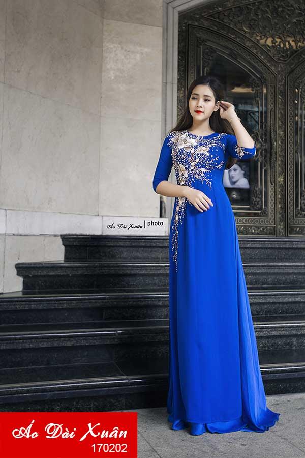 áo dài lụa - 170202