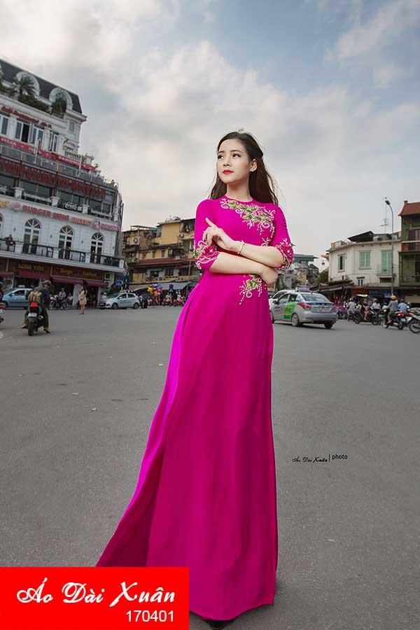 áo dài lụa - 170401